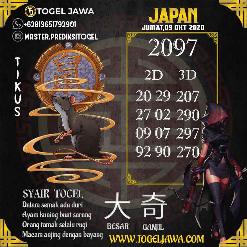 Prediksi Japan Tanggal 2020-10-09