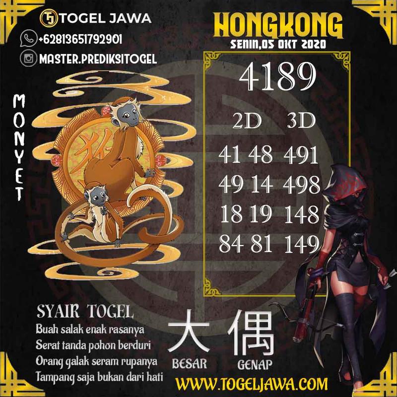 Prediksi Hongkong Tanggal 2020-10-05