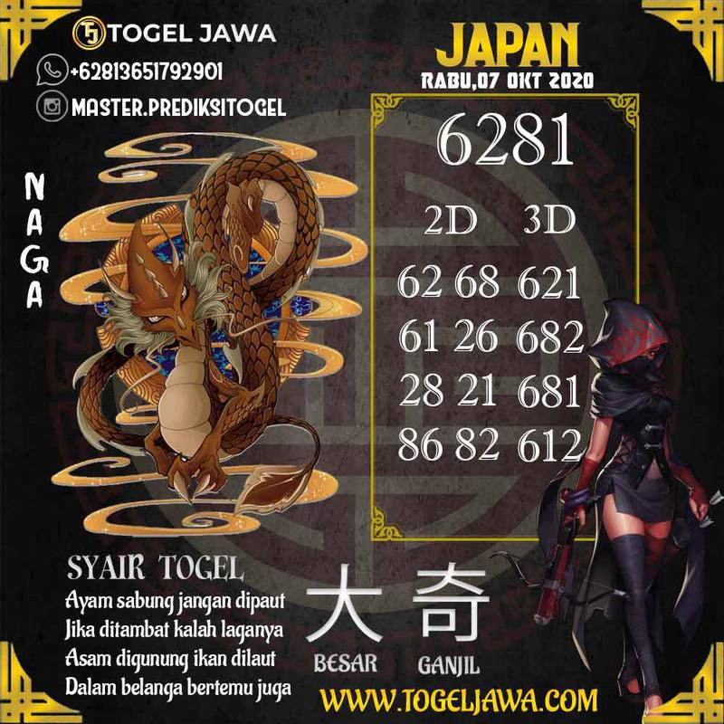 Prediksi Japan Tanggal 2020-10-07