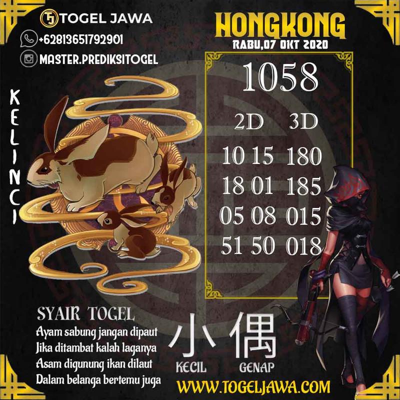 Prediksi Hongkong Tanggal 2020-10-07