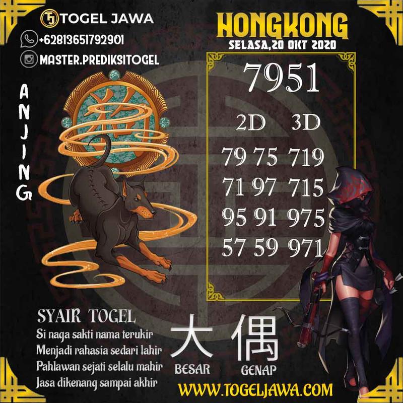 Prediksi Hongkong Tanggal 2020-10-20