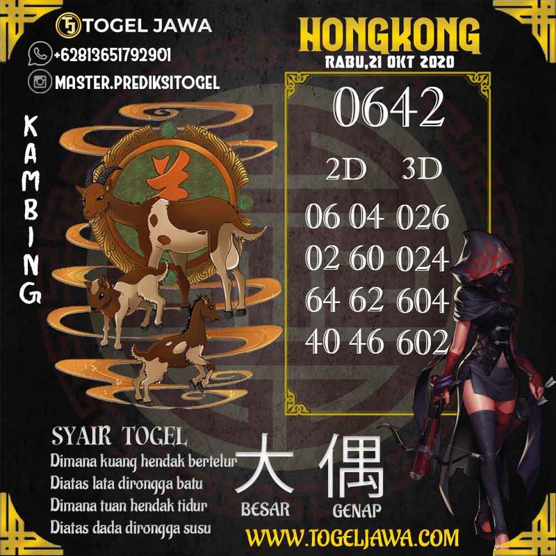 Prediksi Hongkong Tanggal 2020-10-21