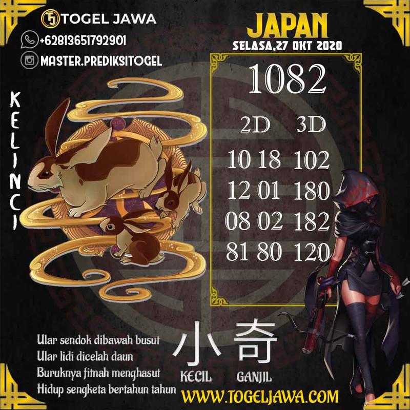 Prediksi Japan Tanggal 2020-10-27