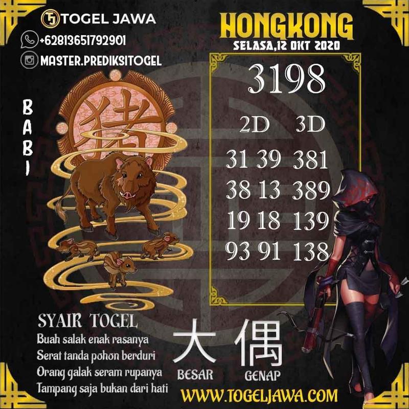 Prediksi Hongkong Tanggal 2020-10-12