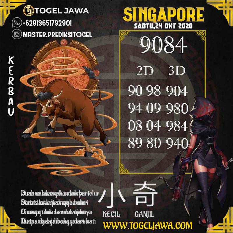 Prediksi Singapore Tanggal 2020-10-24