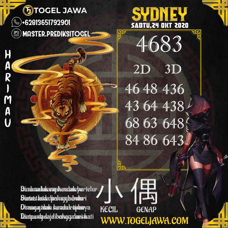 Prediksi Sydney Tanggal 2020-10-24