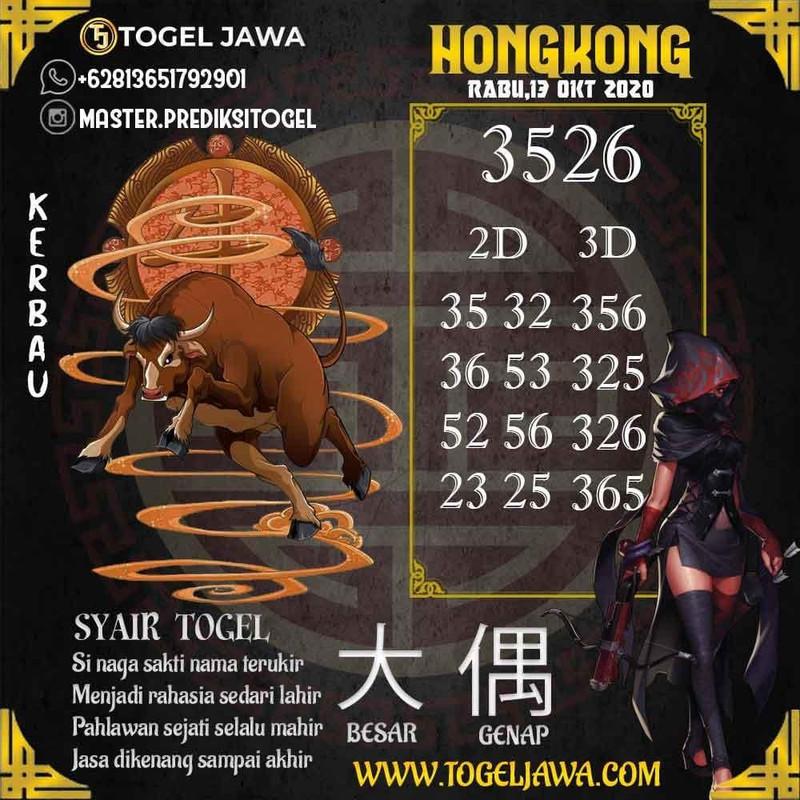 Prediksi Hongkong Tanggal 2020-10-13