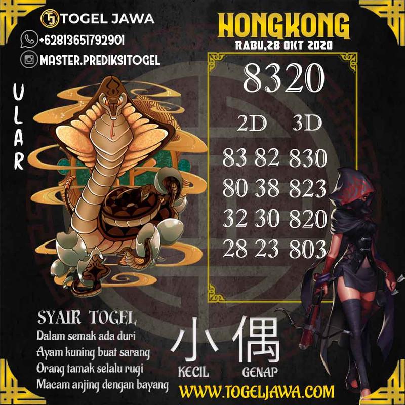 Prediksi Hongkong Tanggal 2020-10-28