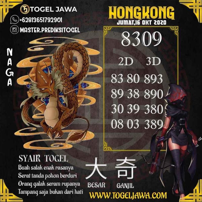 Prediksi Hongkong Tanggal 2020-10-16