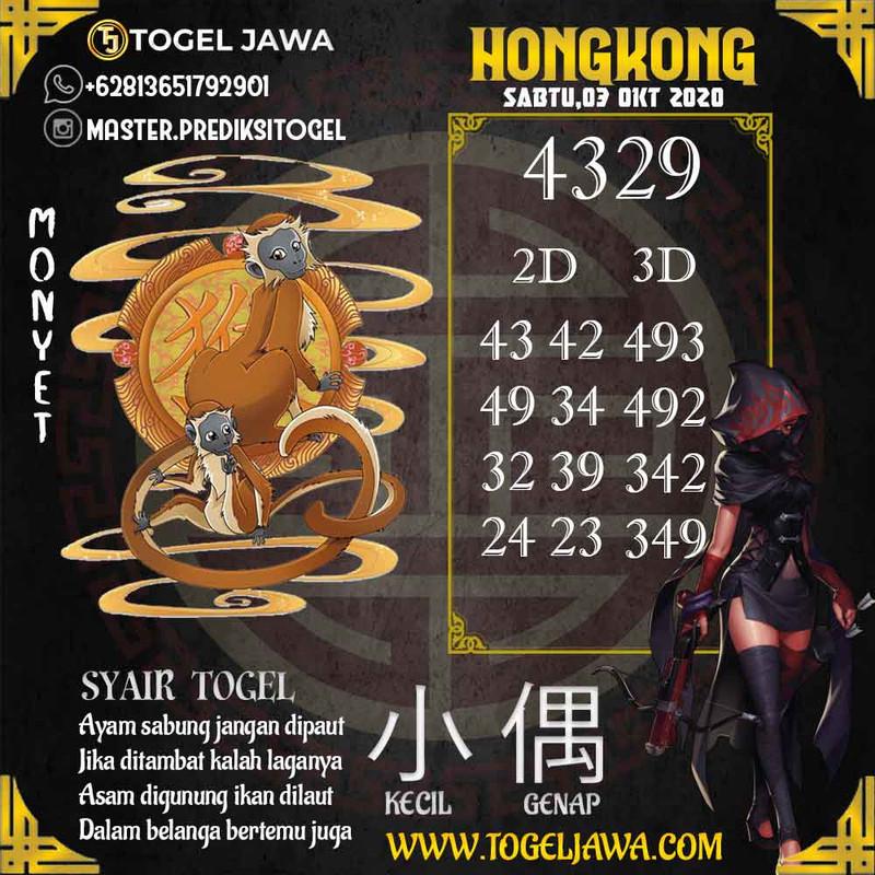 Prediksi Hongkong Tanggal 2020-10-03