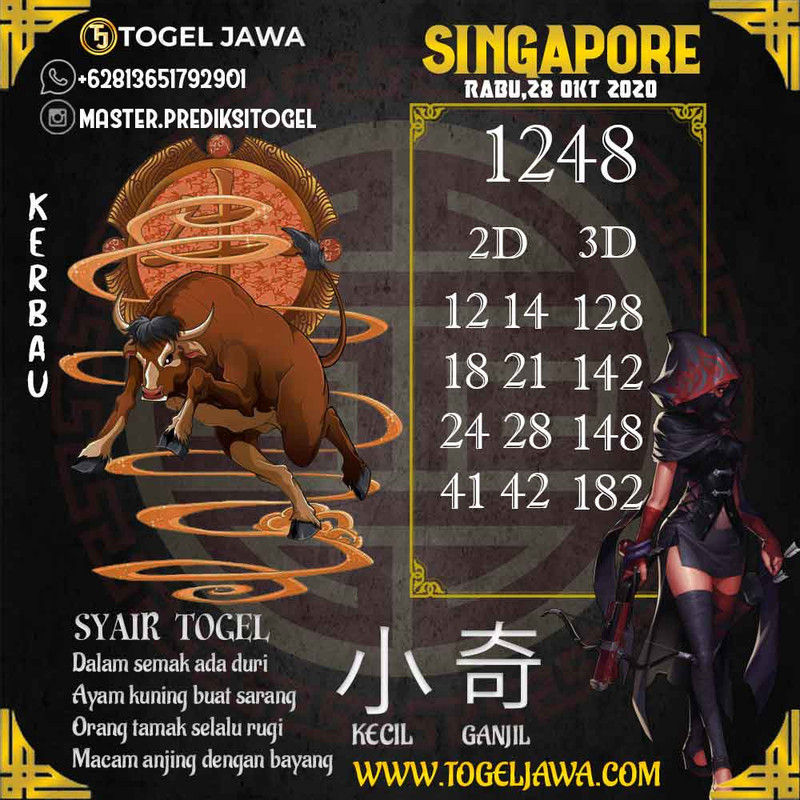 Prediksi Singapore Tanggal 2020-10-28