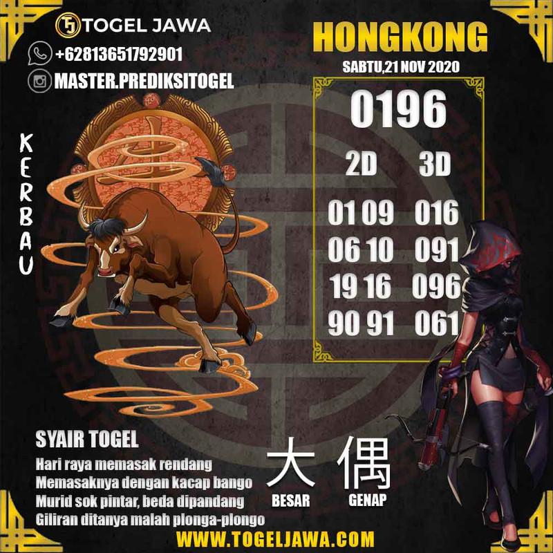 Prediksi Hongkong Tanggal 2020-11-21