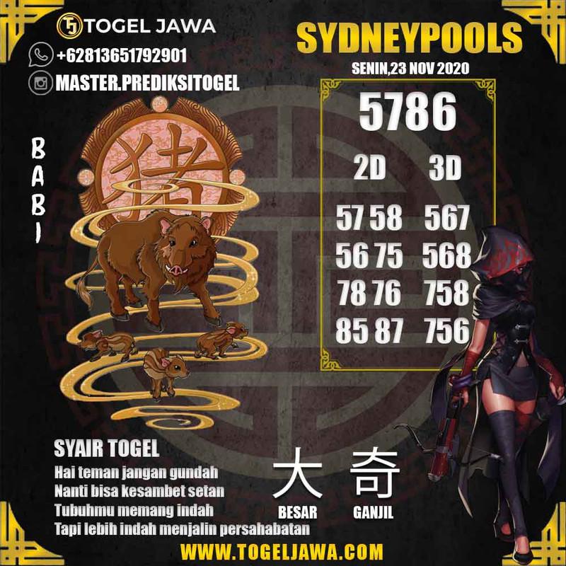 Prediksi Sydney Tanggal 2020-11-23