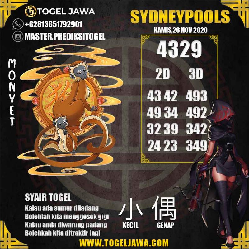Prediksi Sydney Tanggal 2020-11-26