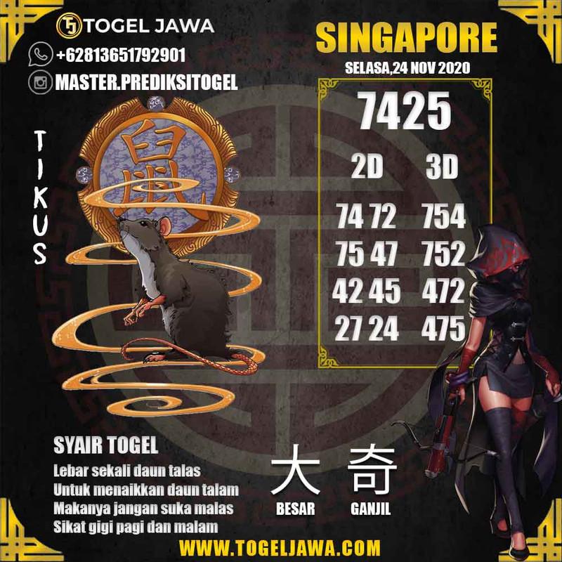 Prediksi Singapore Tanggal 2020-11-24
