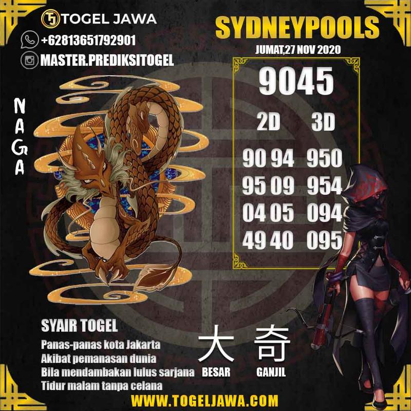 Prediksi Sydney Tanggal 2020-11-27