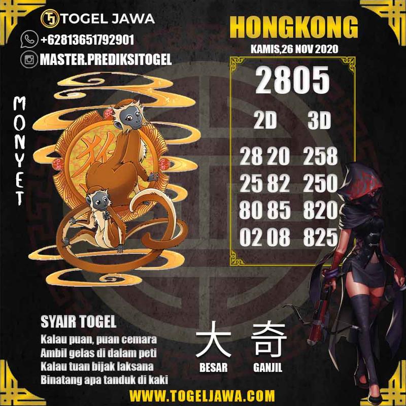 Prediksi Hongkong Tanggal 2020-11-26