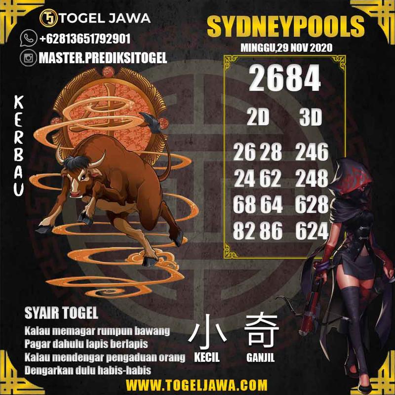 Prediksi Sydney Tanggal 2020-11-29
