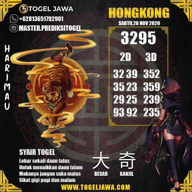 Prediksi Hongkong Tanggal 2020-11-28