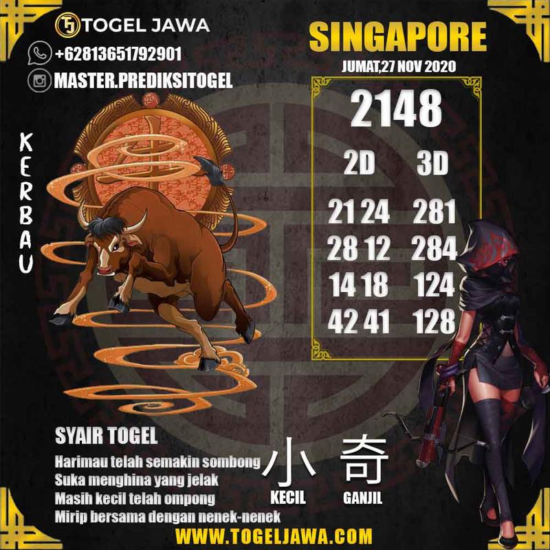 Prediksi Singapore Tanggal 2020-11-27