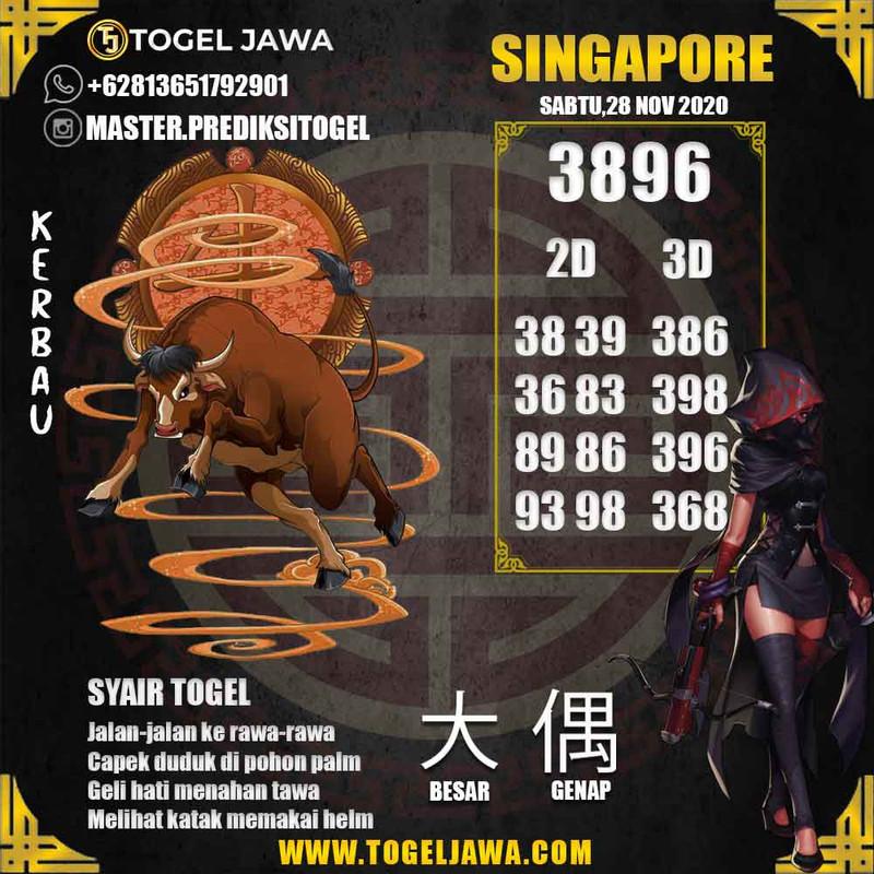 Prediksi Singapore Tanggal 2020-11-28