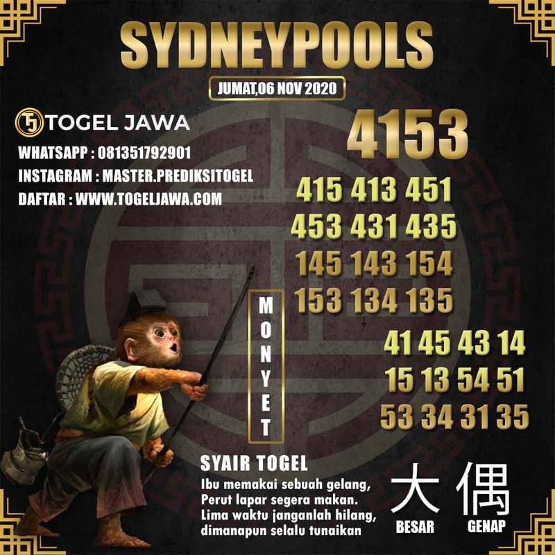 Prediksi Sydney Tanggal 2020-11-06
