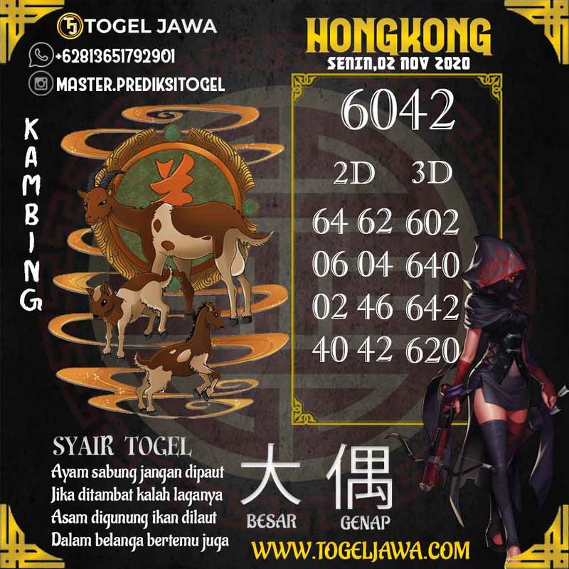 Prediksi Hongkong Tanggal 2020-11-02