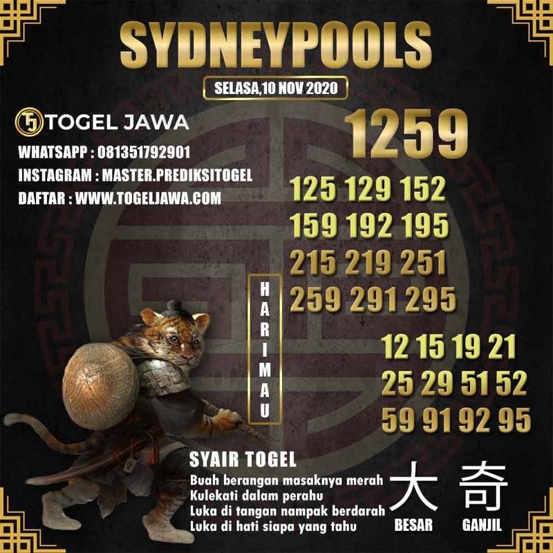 Prediksi Sydney Tanggal 2020-11-10