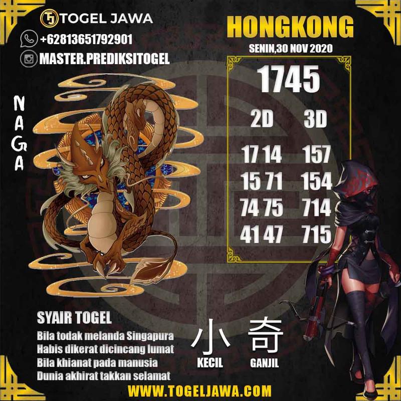 Prediksi Hongkong Tanggal 2020-11-30
