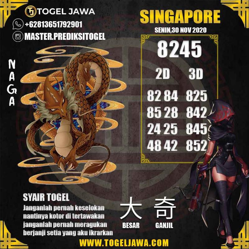 Prediksi Singapore Tanggal 2020-11-30