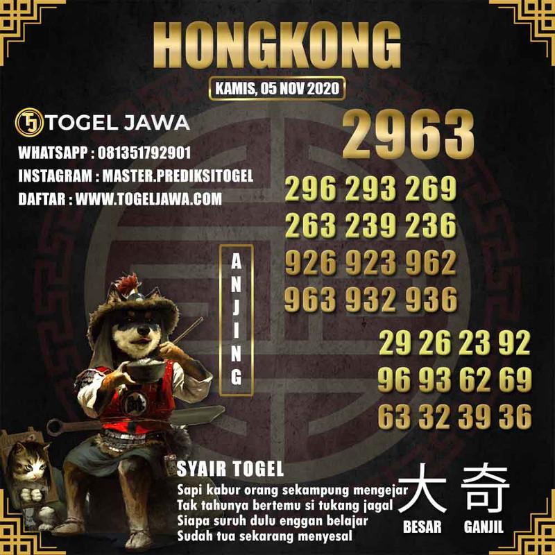 Prediksi Hongkong Tanggal 2020-11-05