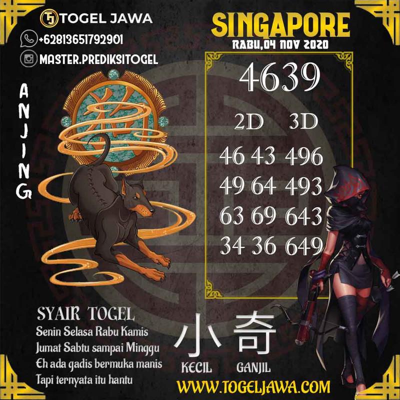 Prediksi Singapore Tanggal 2020-11-04