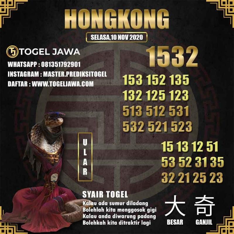 Prediksi Hongkong Tanggal 2020-11-10