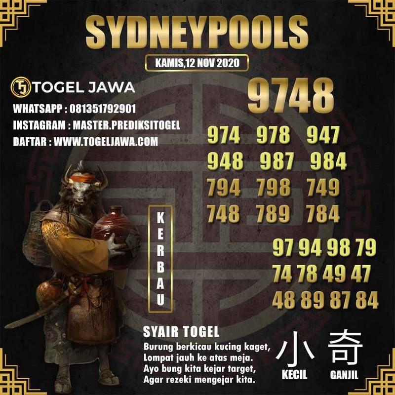 Prediksi Sydney Tanggal 2020-11-12