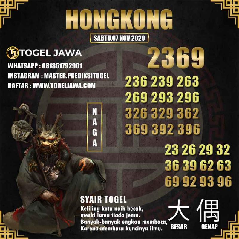 Prediksi Hongkong Tanggal 2020-11-07