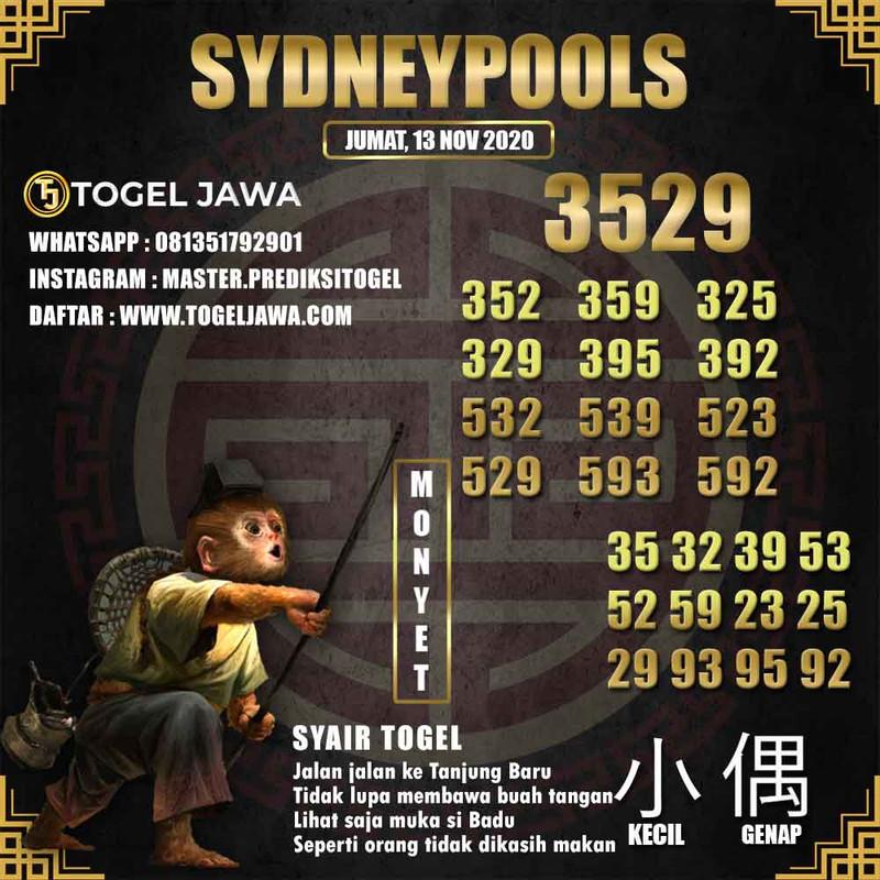 Prediksi Sydney Tanggal 2020-11-13