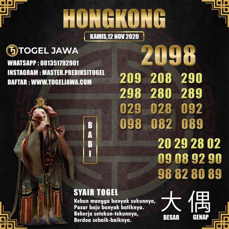 Prediksi Hongkong Tanggal 2020-11-12