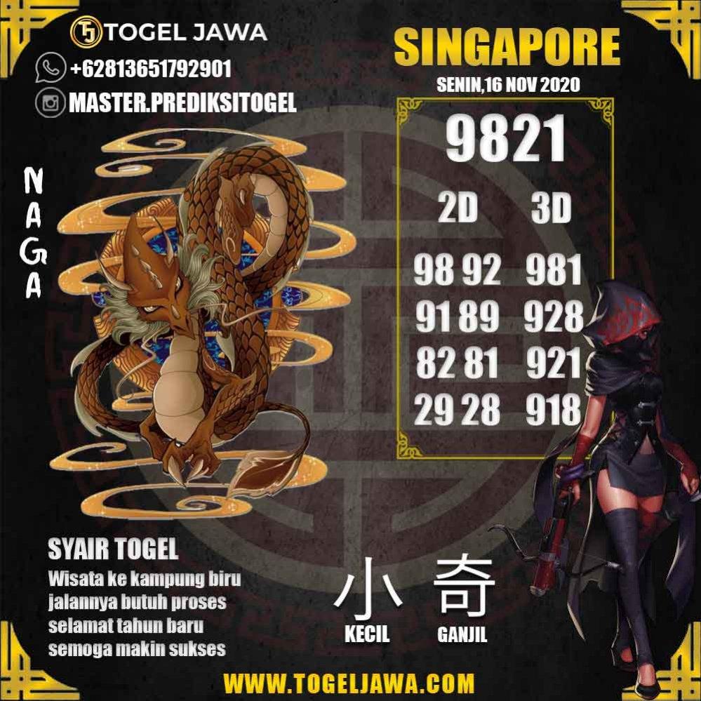 Prediksi Singapore Tanggal 2020-11-16