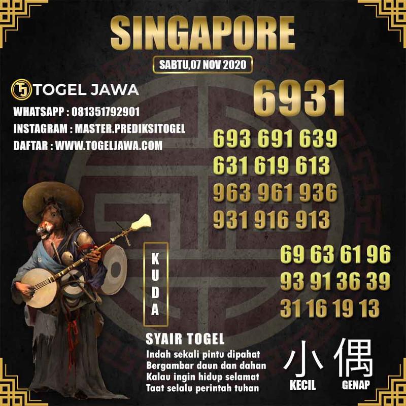 Prediksi Singapore Tanggal 2020-11-07