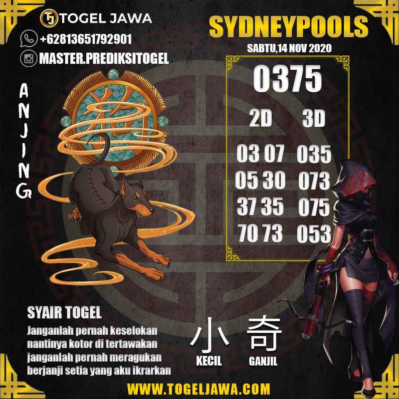 Prediksi Sydney Tanggal 2020-11-14