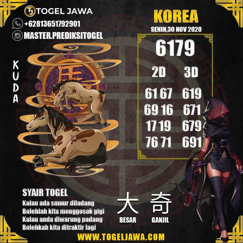 Prediksi Korea Tanggal 2020-11-30