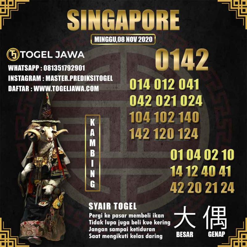 Prediksi Singapore Tanggal 2020-11-08