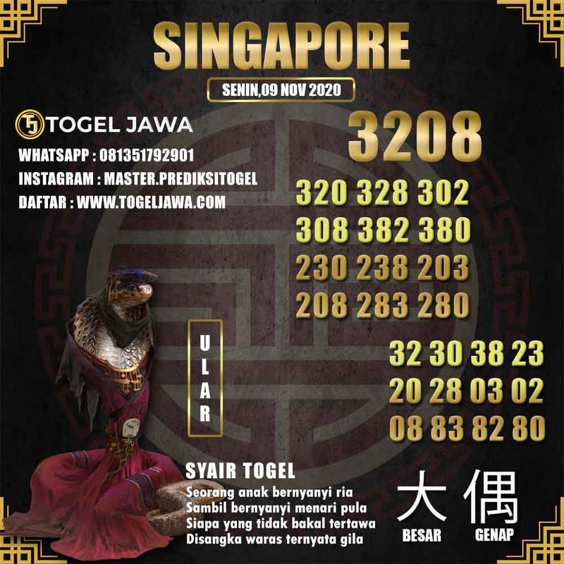 Prediksi Singapore Tanggal 2020-11-09