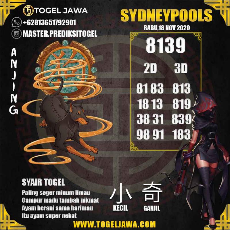 Prediksi Sydney Tanggal 2020-11-18