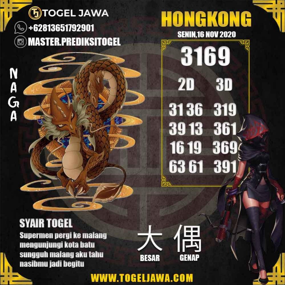 Prediksi Hongkong Tanggal 2020-11-16