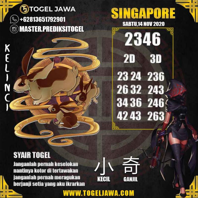 Prediksi Singapore Tanggal 2020-11-14