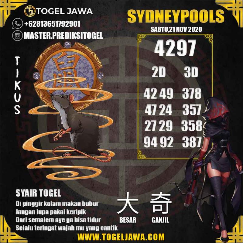 Prediksi Sydney Tanggal 2020-11-21