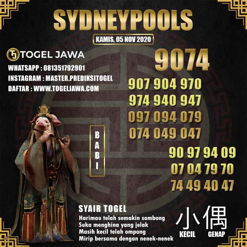 Prediksi Sydney Tanggal 2020-11-05