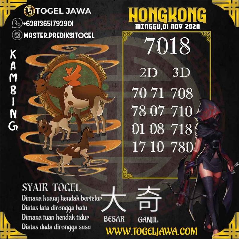 Prediksi Hongkong Tanggal 2020-11-01