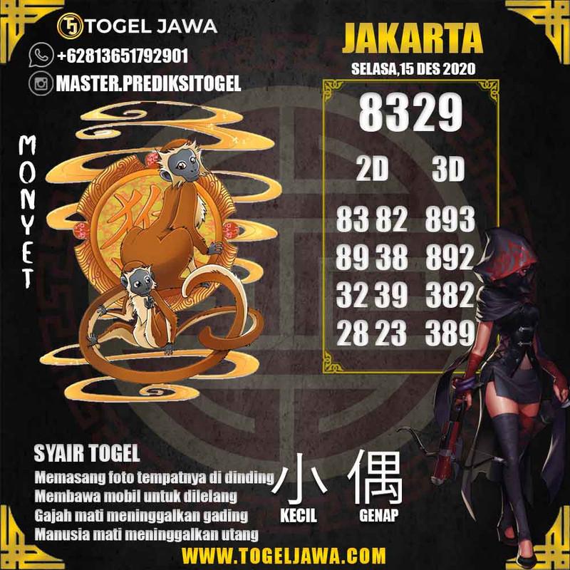 Prediksi Jakarta Tanggal 2020-12-15